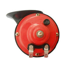 Red 12V Loud Car Auto Truck Electric Vehicle Horn Snail Horn Sound Level 110dB
