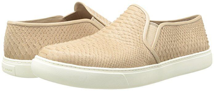 Cole Haan Womens Bowie Slipon Sneaker Maple Sugar Snake Print 9 NEW IN BOX