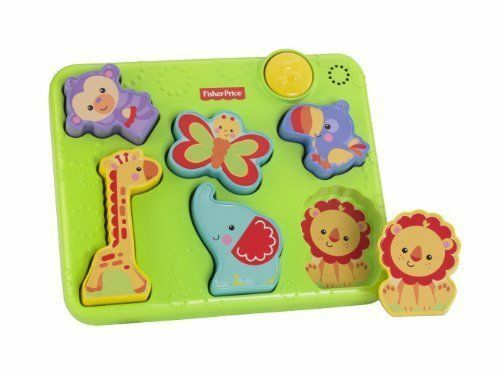 Fisher-Price Silly Sounds Puzzle Developmental Baby Toy Music New
