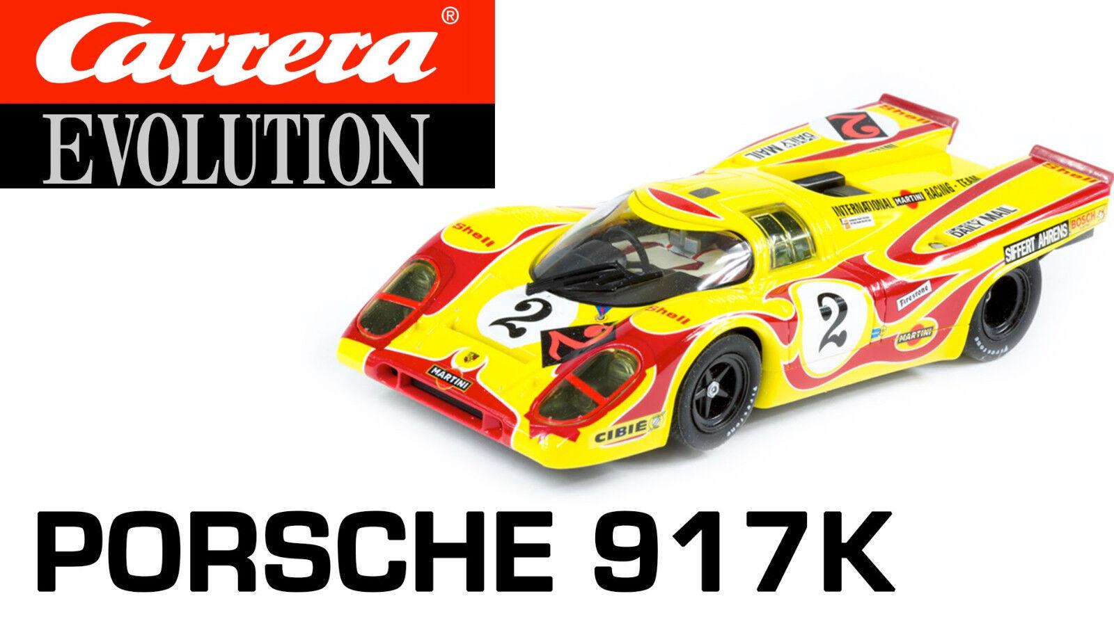 Carrera 1 32 ref. 27498 PORSCHE 917K NEW NEW