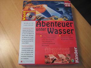 CD-Rom-Windows-Abenteuer-unter-Wasser-Algebra-Rechnen-Mathe-6-14