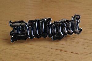 DILLIGAF Enamel Pin Badge Motorcycle Biker Rocker Goth Punk