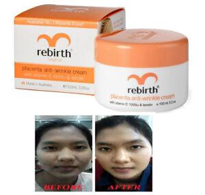 Details about Lanopearl Australia Rebirth Placenta Anti Wrinkle Cream +  Vitamin E & Lanolin