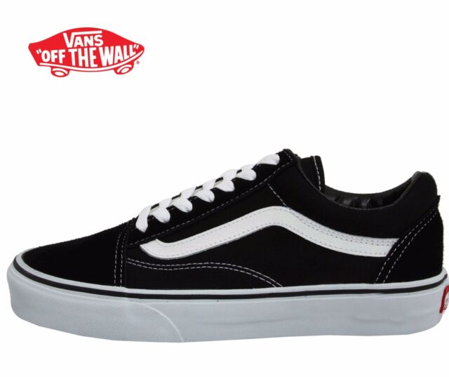 8d98563ff45 Men's Vans Old Skool Fashion Sneaker Classic Black White Canvas Suede All  SZ NEW
