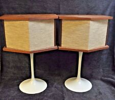 Bose 901 Series I Speakers with Vintage Tulip Stands