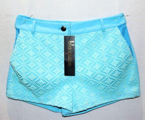 pizzo in parte con blu taglia 10 di Bluejuice frontale Pantaloncini sr36 Bnwt marca FW8ZgwqS80