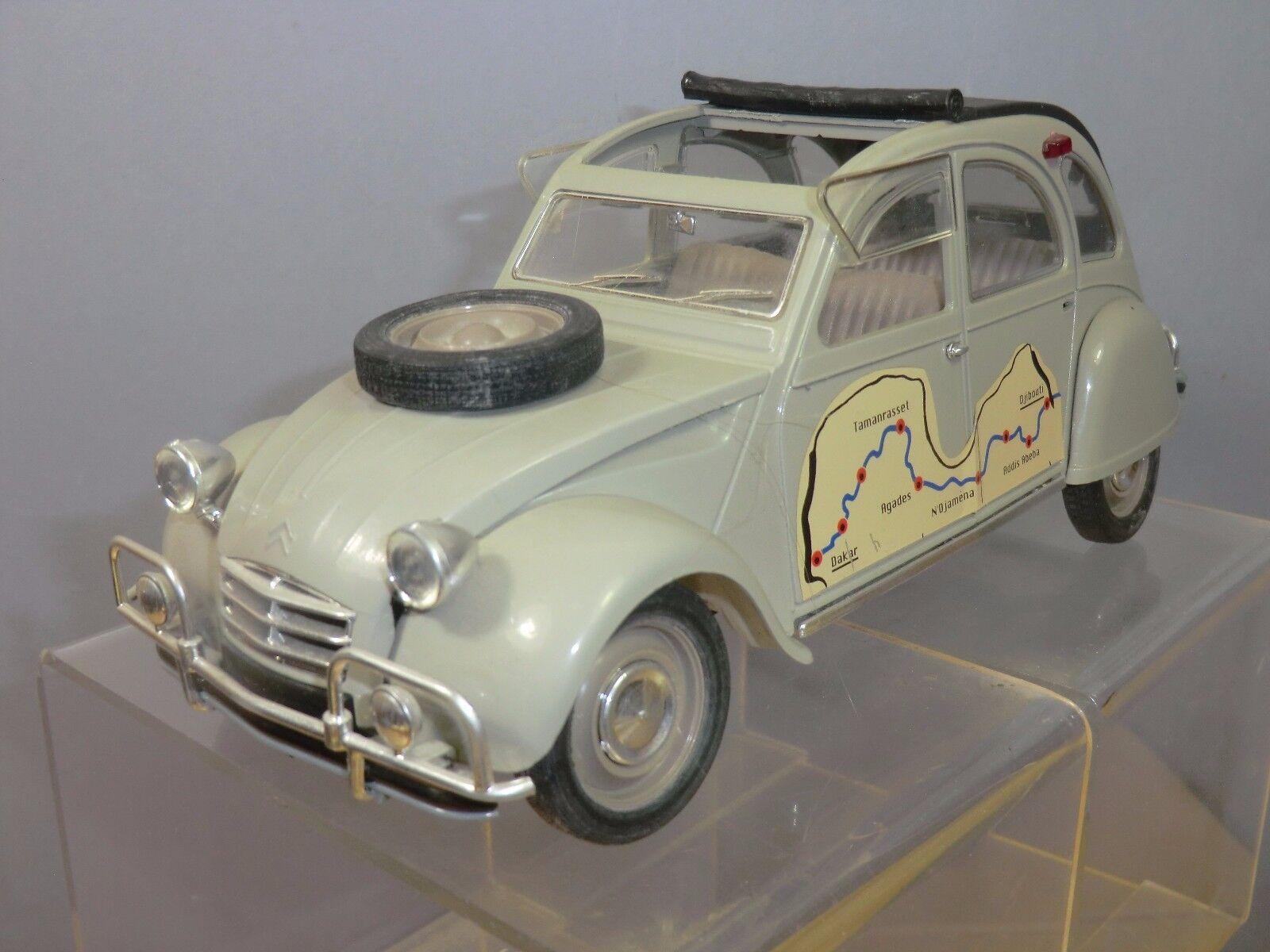 SOLIDO  MODEL No.XXX            CITROEN  2CV     DAKAR RALLY       SALOON CAR