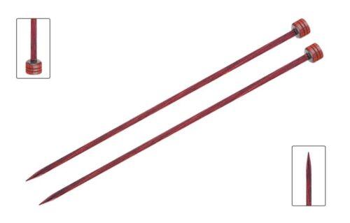 8mm Length 30cm KnitPro Cubics Rose Wood Knitting Needles 3.5mm