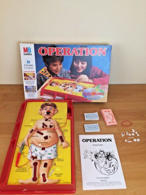 Operation 1996 Edition Board Game - MB Games complete