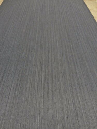 "Black Ebony composite wood veneer 12/"" x 12/"" with paper backer 1//40th/"" thick #633"