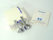 Campagnolo C record shifters Syncro 6 speed  w friction lever Vintage Bike NOS