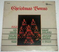 Philippines CHRISTMAS BONUS Mabuhay Singers, Leo Valdez OPM SEALED LP Record