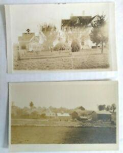 2-RPPCs-real-photo-postcard-Divided-Back-era-Volks-Orchard-city-unknown-Ohio