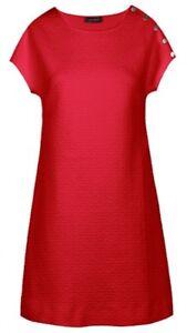 COP COPINE ETE 2017   robe courte texturée modèle CHILOE - 40 rouge ... a083d068d7eb
