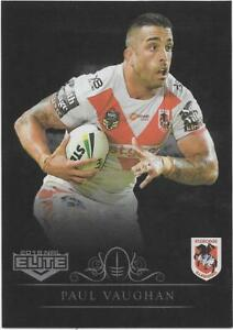 2019 NRL Elite Silver Special Parallel DRAGONS Team Set Sports Trading Cards