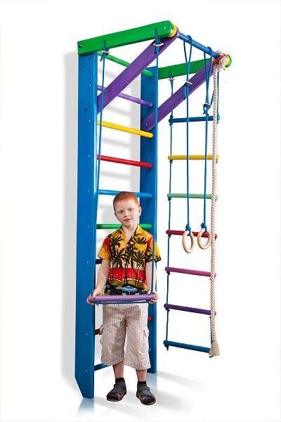 Swedish Wall Ladder Wall Swedish bars Climbing Wall Fitness Sport Gymnastic 854f82