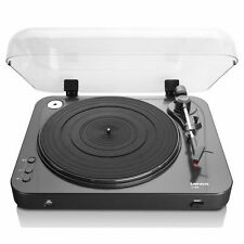 Lenco L-85 Semi Automatic Turntable with MM Cartridge and Dustcover - Black