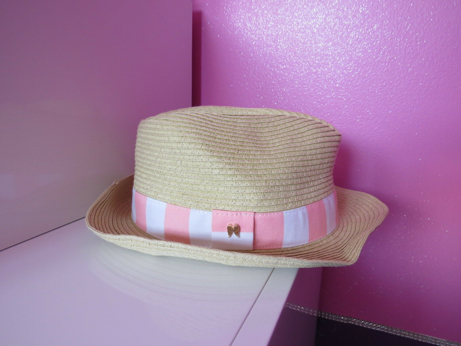 Victoria Secret   VERY SEXY Straw Hat SIZE ONE
