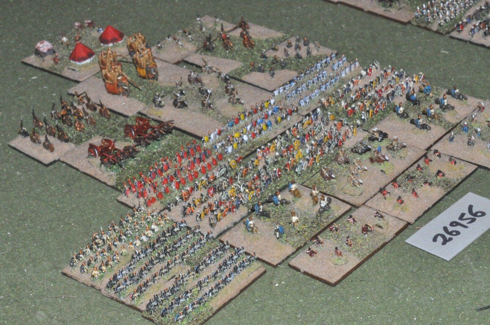 6mm roman era   roman   carthaginian - army 500 figures - inf (26956)