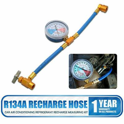 R134a Tubo Di Misura Calibro Valvola Refrigerante Ricarica Aria Condizionata Auto