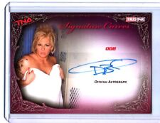 TNA ODB 2009 Knockouts GOLD Authentic Autograph Card SN 12 of 75