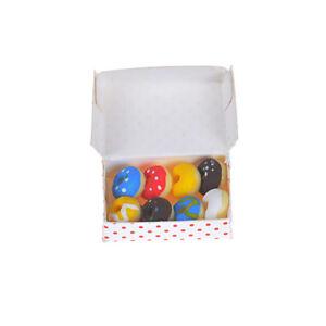 1-12-Dollhouse-Miniature-A-Box-Of-Doughnut-Dollhouse-Mini-Food-DecorAB-X-ev