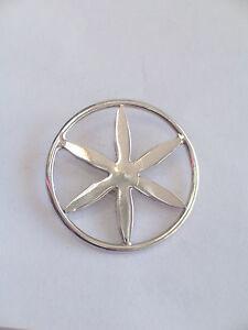 Ciondolo con il SOLE DELLE ALPI in ARGENTO 925 pendente con girocollo grande