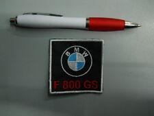 PATCH TOPPA BMW MOTORRAD F 800 GS embroidery ricamato termoadesivo 6x6