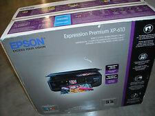 Brand NEW Epson Expression Premium XP-610 Color Inkjet Wireless Printer, Scanner