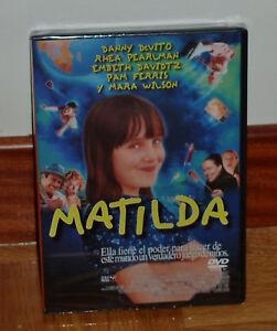 MATILDA-DVD-NUEVO-PRECINTADO-COMEDIA-HUMOR-DANNY-DEVITO-SIN-ABRIR-R2