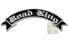 Patch,Rückenaufnäher -ROAD KING- SchwingeV2 oben 30cm stick,Rocker, Biker, Kutte