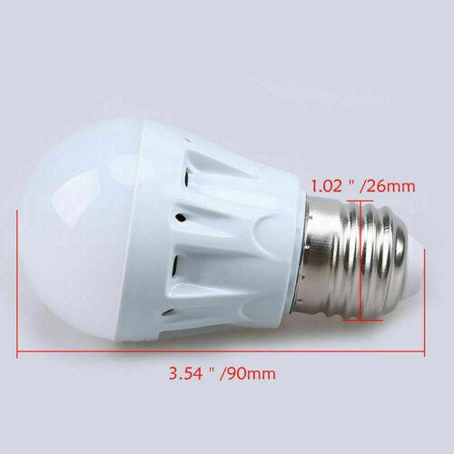 3W-9W E27 LED Microwave Motion Sensor White Light Lamp Home Bulb AC 85V-265V