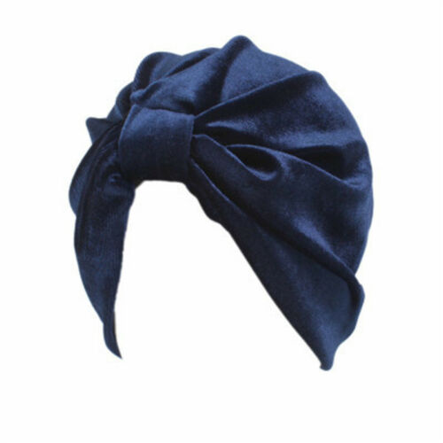 Women Floral Hijab Elastic Caps Islamic Muslim Hats Cotton Turban Wrap Headwear