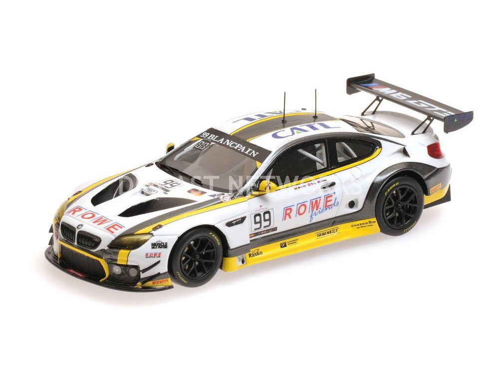 Minichamps BMW M6 GT3 Rowe Racing WINNER 24H SPA 2016  18 Scale LE of 244