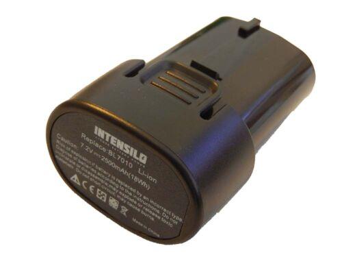 Original intensilo ® Batterie 2.500 mAh pour Makita 194355-4 bl7010 194356-2