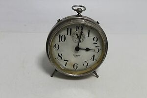 Antique American desktop watch WESTCLOX Big Ben with alarm