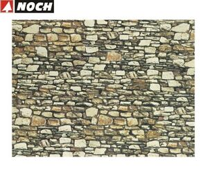 NOCH-H0-Tt-57710-Wall-Panel-034-Dolomite-034-64-X-15-CM-1-M-New-Boxed