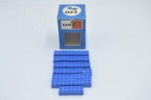 4249891 Lego Basic Stein Brick 1 x 2 Dunkelblau 15 Stück Neu