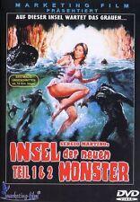 The Island of the fishmen + Fishmen and their Queen- Barbara Bach- DVD PAL
