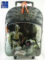 16 Disney Star Wars Back To School Roller Backpack Free Shipping Kmart Product
