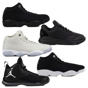 Details zu Nike Jordan Horizon Low Superfly 5 Trainer ST Schuhe Schwarz Hellgrau Sneaker