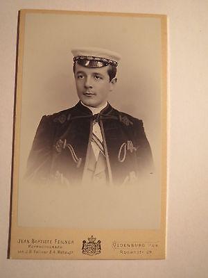Erlangen Uttenruthia - Ss 1898 - Johannes Volkers / Cdv Landesbischof Oldenburg Rabatte Verkauf