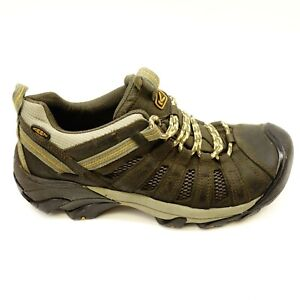 1c670b672e4 Keen Mens Size 11 Voyageur Low Leather Athletic Soft Toe Hiking ...
