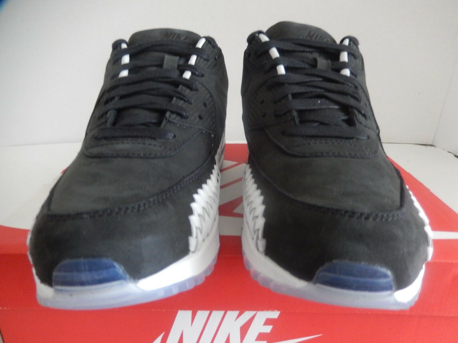 Nike air max tessuti 90 tessuti max nero-nero-white sz 9,5 384f65