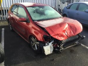 VW POLO DAMAGED SALVAGE REPAIRABLE