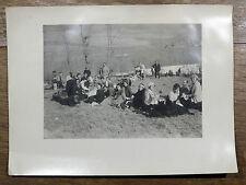Photo arg. Pique-Nique Pyrénées Musiciens c1930 VERS SUPERBAGNÈRES