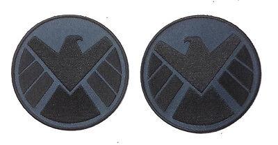 "Avengers/Agents of SHIELD 3.5""  Eagle Logo Patch Set of 2 (ASPA-001-Set)"