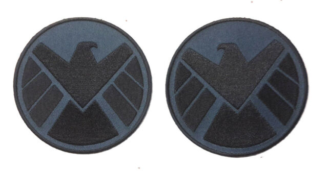 "Avengers/Agents of SHIELD 3.5""  Eagle Logo Patch Set of 2 (ASPA-001-Set)"