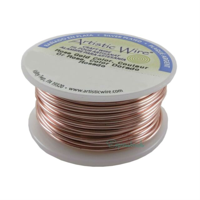 Pack Of 3 Antique Copper Wire  20 GA  10 Yd Round Dead Soft Non Tarnish