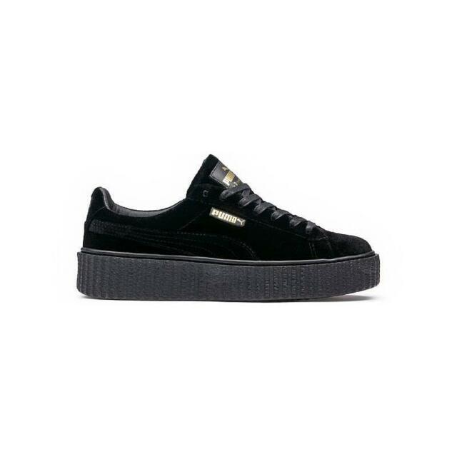 PUMA Mens Fenty by Rihanna Riri Black Creeper Velvet 36463901 SNEAKERS  Shoes 12 b4fefd78f